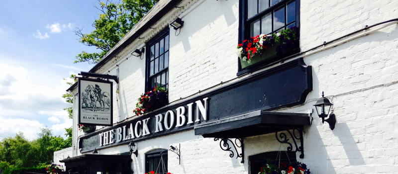 The Black Robin pub