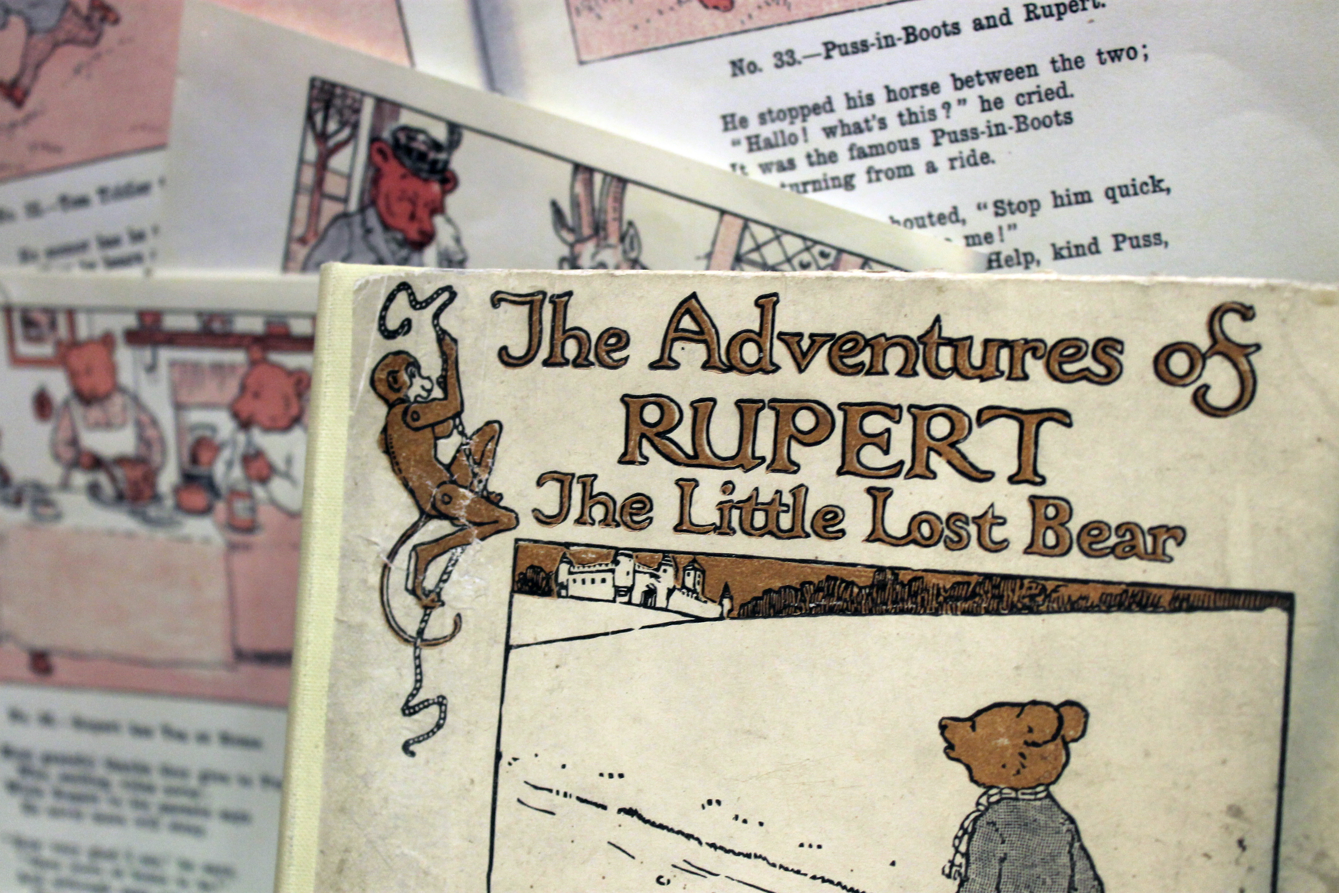 Rupert Bear Centenary Exhibition