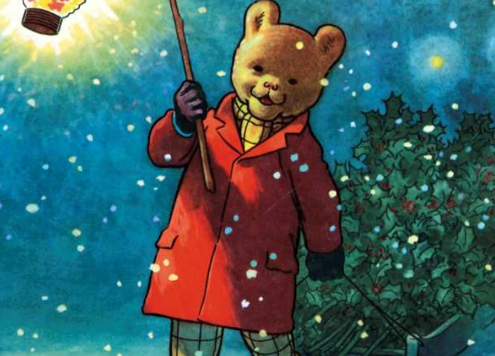 Rupert Bear's Canterbury Competition