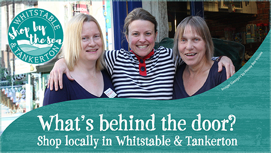 What's behind the door? Shop locally in Whitstable and Tankerton