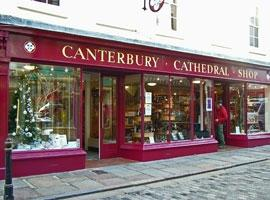 Canterbury Cathedral shop