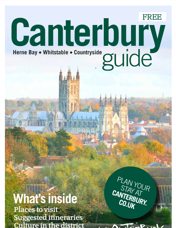 Canterbury, Herne Bay, Whitstable, Visitor Guide