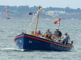 Whitstable Vintage Lifeboat Trip