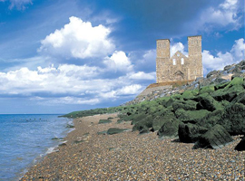 Picture of Reculver beach